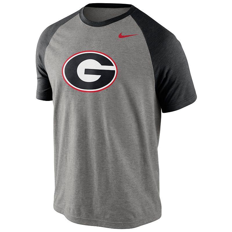 Men's Nike Georgia Bulldogs Big Play Raglan Top