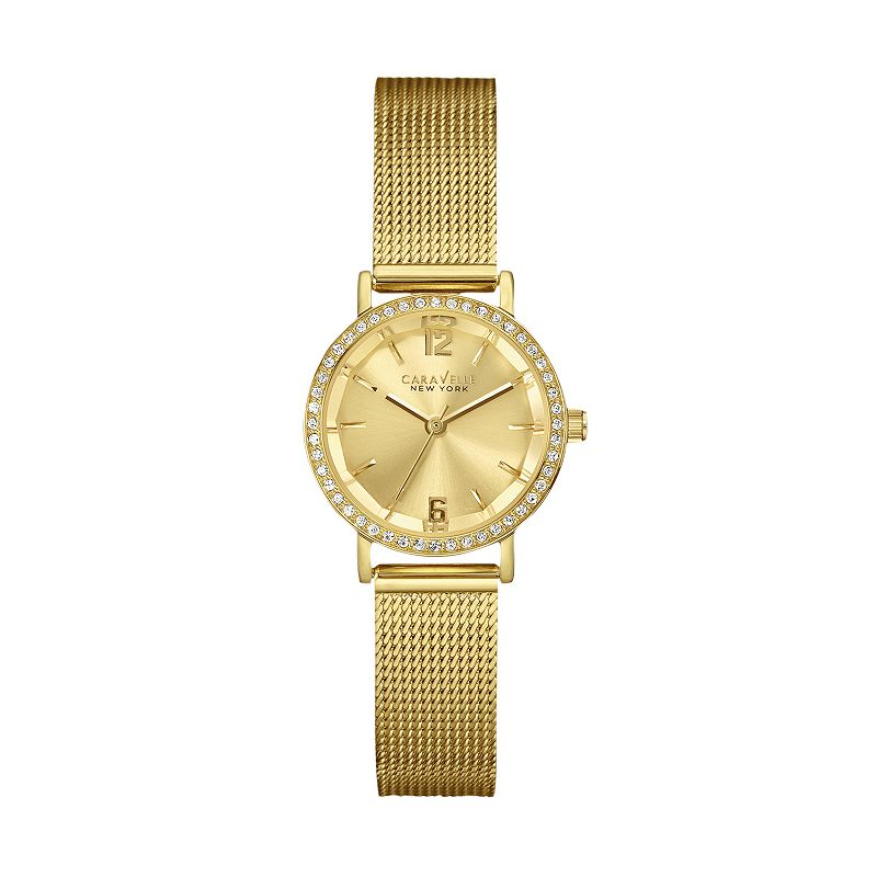 Caravelle New York by Bulova Women's Gold Tone Stainless Steel Watch
