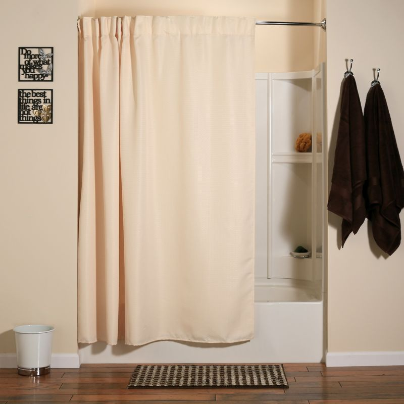 Aulaea Infinity Collection 2-pc. Fabric Shower Curtain & Liner Set