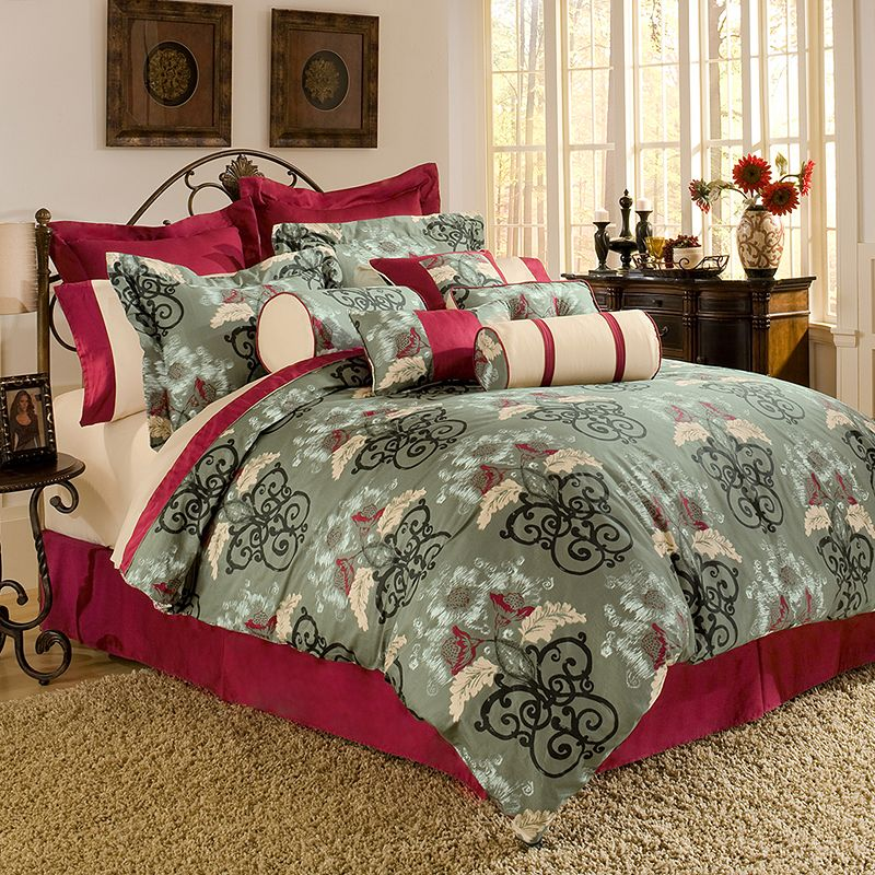 Pointehaven Coronado 4-pc. Comforter Set - Full