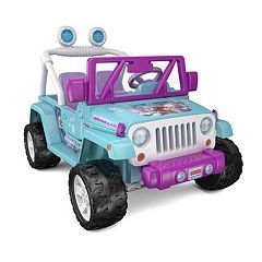 Disney's Frozen Power Wheels Jeep Wrangler by Fisher-Price by