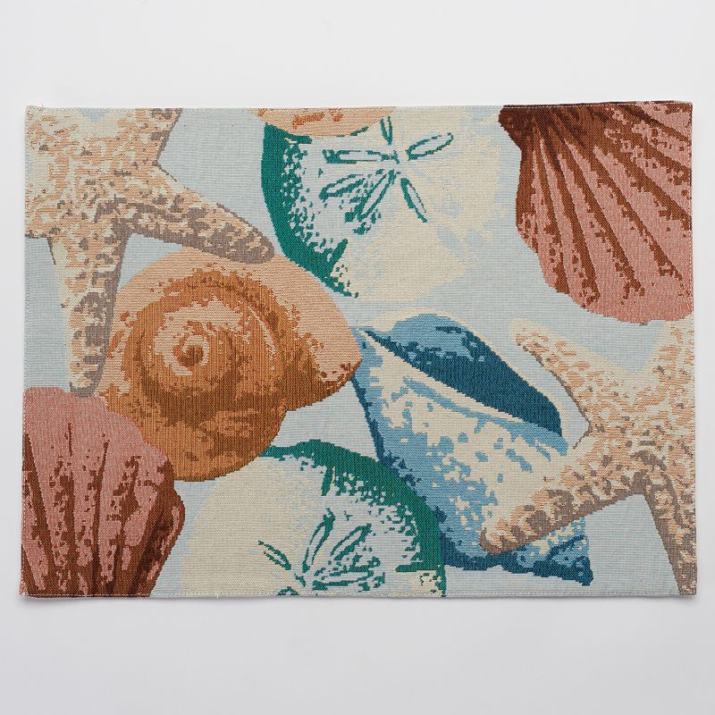 SONOMA Goods for Life™ Coastal Shell Tapestry Placemat