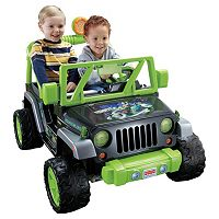 Power Wheels Teenage Mutant Ninja Turtles Ride-On Jeep Wrangler by Fisher-Price