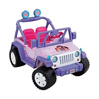 Power Wheels Dora and Friends Ride-On Jeep Wrangler by Fisher-Price