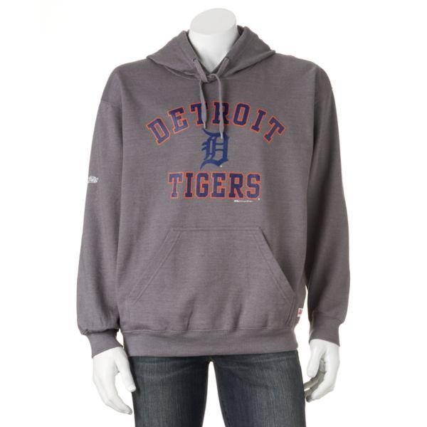 Men's Stitches Detroit Tigers Pullover Fleece Hoodie