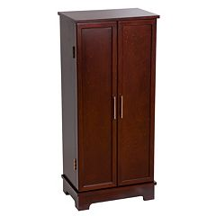 Mele & Co. Wood Jewelry Armoire