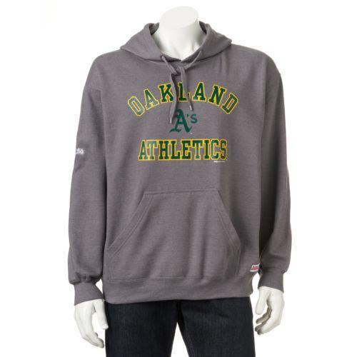 Men's Stitches Oakland Athletics Pullover Fleece Hoodie