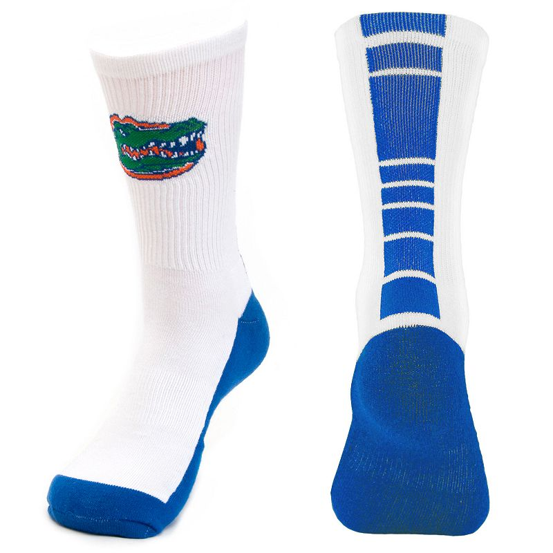 Men's Mojo Florida Gators Champ 1/2-Cushion Performance Crew Socks