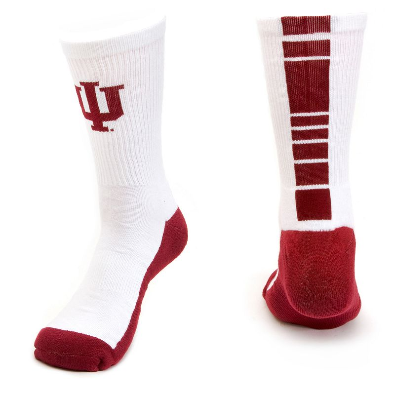 Men's Mojo Indiana Hoosiers Champ 1/2-Cushion Performance Crew Socks