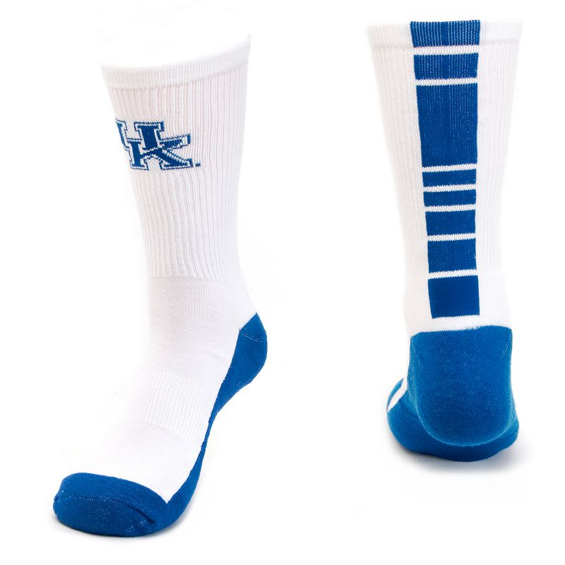 Men's Mojo Kentucky Wildcats Champ 1/2-Cushion Performance Crew Socks