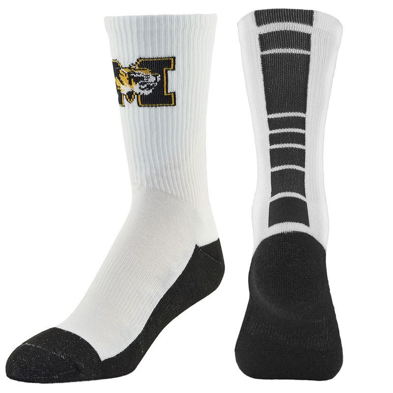 Men's Mojo Missouri Tigers Champ 1/2-Cushion Performance Crew Socks