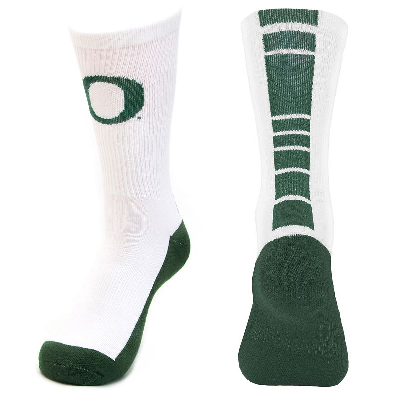 Men's Mojo Oregon Ducks Champ 1/2-Cushion Performance Crew Socks