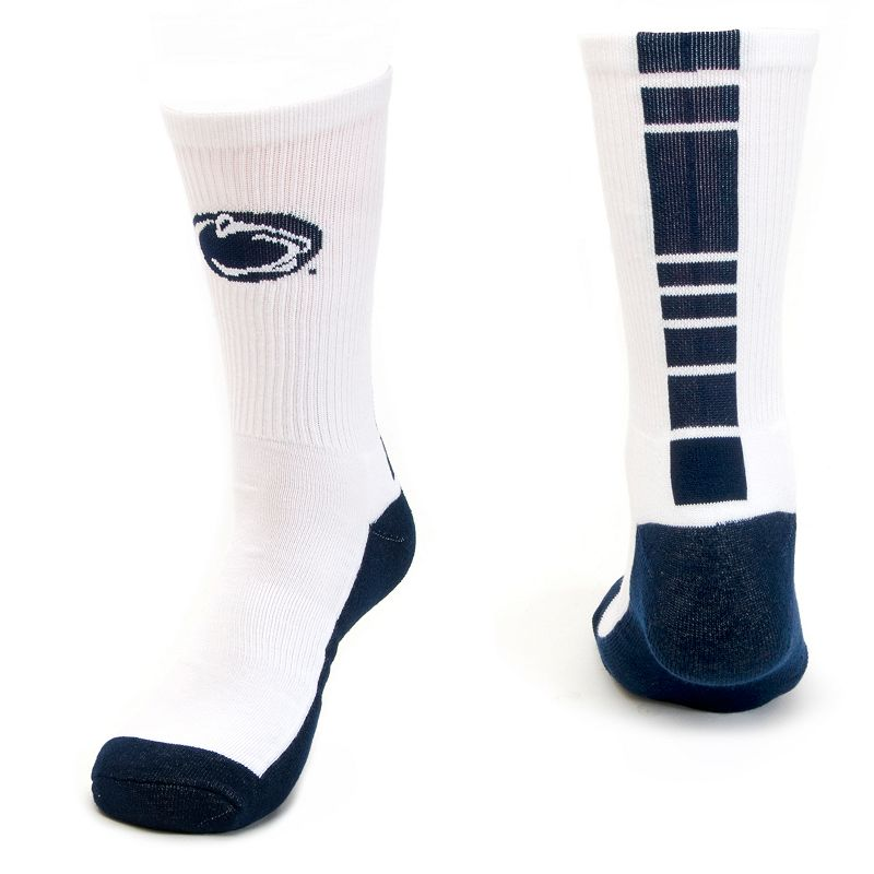 Men's Mojo Penn State Nittany Lions Champ 1/2-Cushion Performance Crew Socks