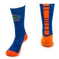 Men's Mojo Florida Gators Champ 1/2-Cushion Performance Crew Socks
