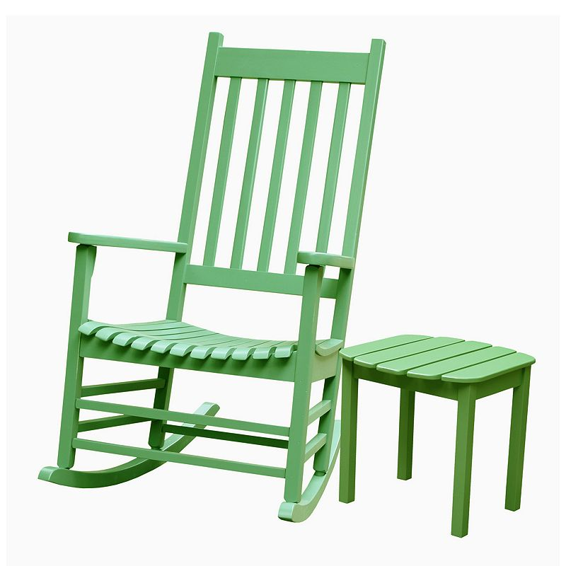 Porch 2-piece Rocking Chair and Side Table Set