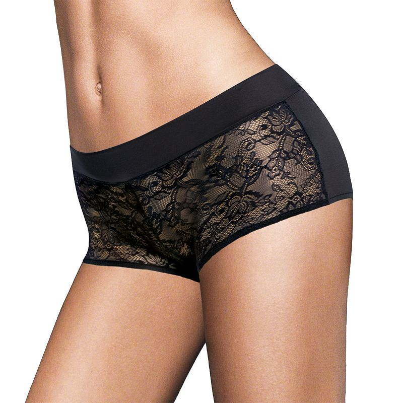 Maidenform Smooth Luxe Lace Boyshorts 40872 - Women's