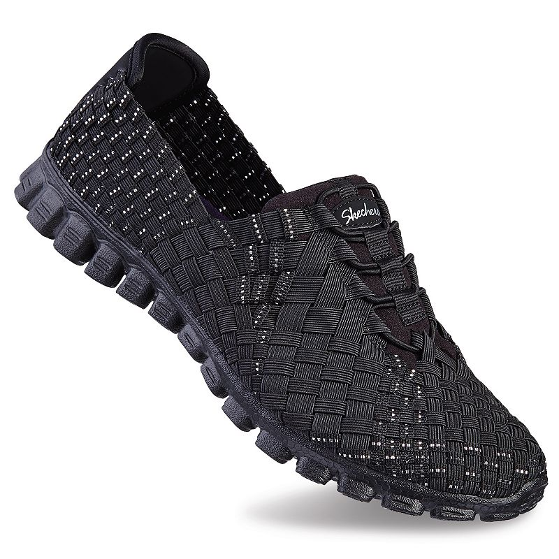 Skechers EZ Flex 2 TADA! Women's Stretch Weave Slip-On Shoes