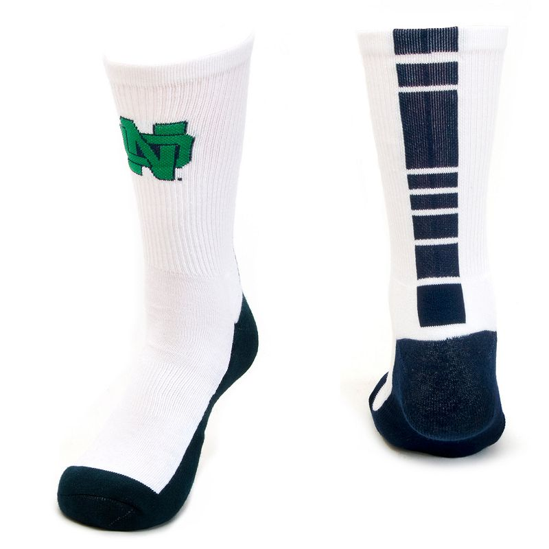 Women's Mojo Notre Dame Fighting Irish Champ 1/2-Cushion Performance Crew Socks