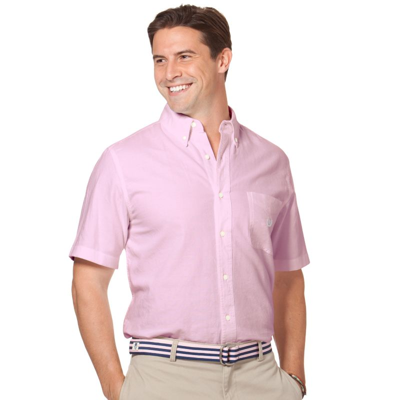 Pink Oxford Button Down Shirt Oxford Casual Button-down