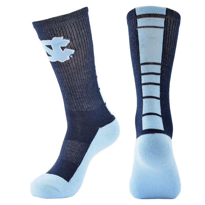 Youth Mojo North Carolina Tar Heels Champ 1/2-Cushion Performance Crew Socks