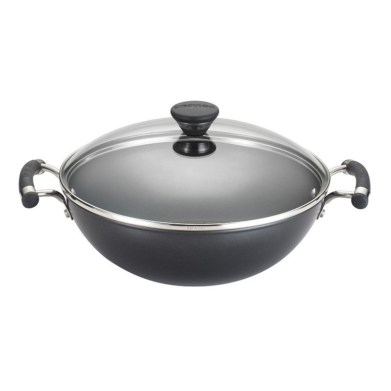 Circulon Acclaim 12.5-in. Hard-Anodized Nonstick Covered Wok