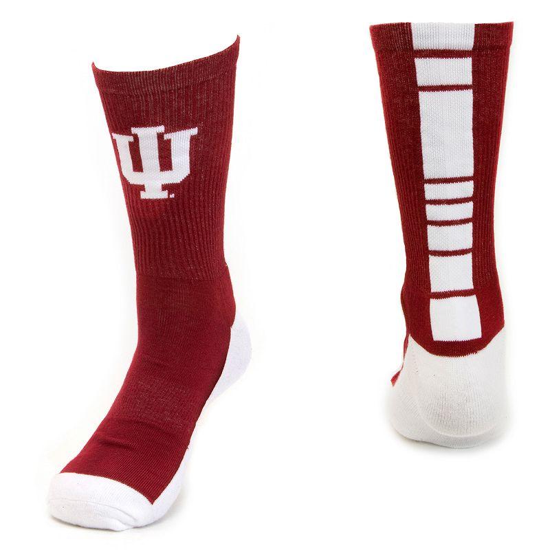 Youth Mojo Indiana Hoosiers Champ 1/2-Cushion Performance Crew Socks