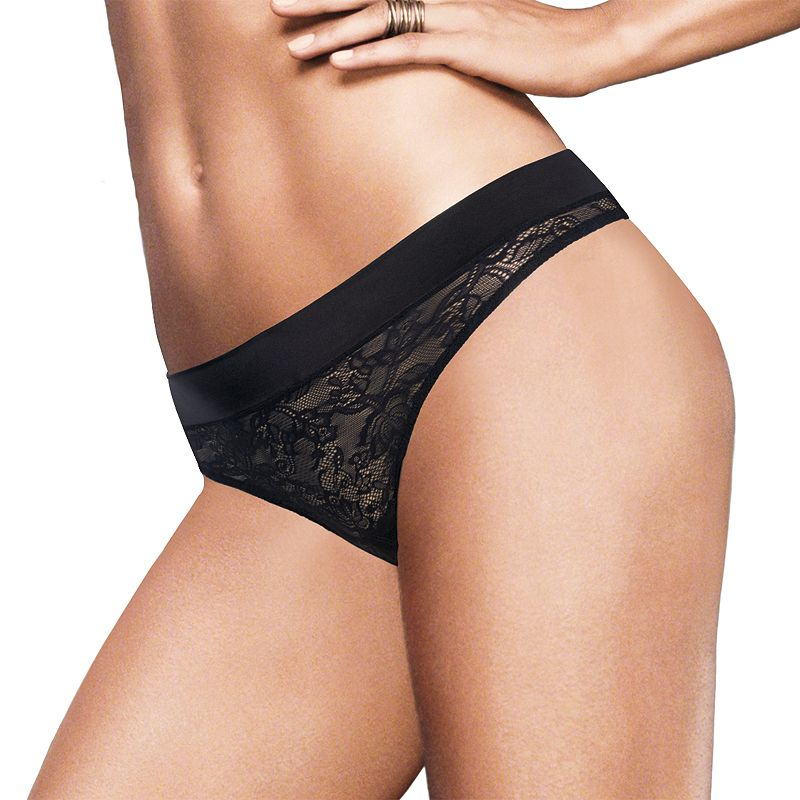 Maidenform Smooth Luxe Lace Thong 40161 - Women's