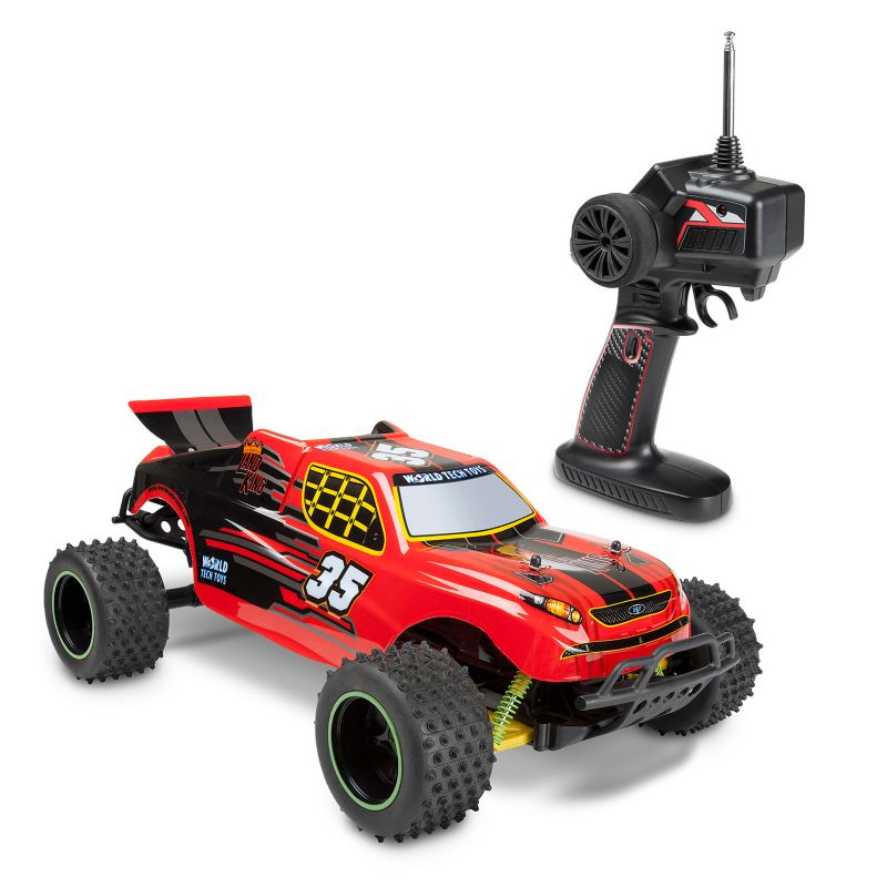 World Tech Toys Land King Remote Control Truggy, Multicolor thumbnail