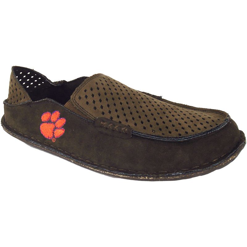 Men's Clemson Tigers Cayman Perforated Moccasin