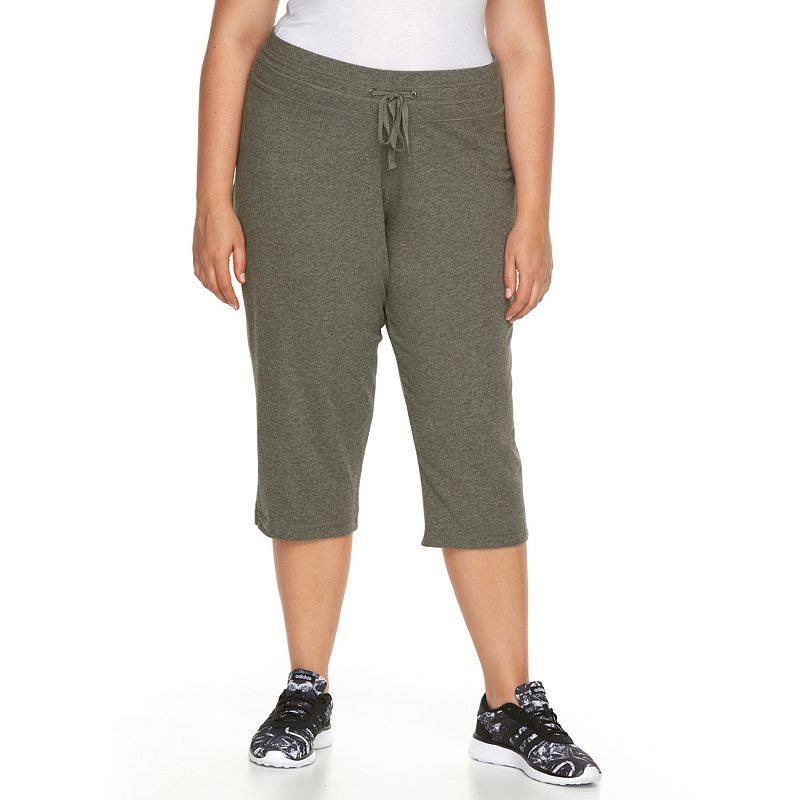 Plus Size Tek Gear® Core Lifestyle Capris