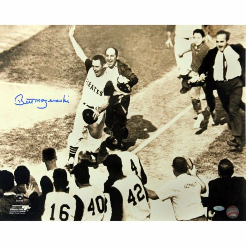 Steiner Sports Pittsburgh Pirates Bill Mazeroski 1960 Home Run 16'' x 20'' Signed Photo