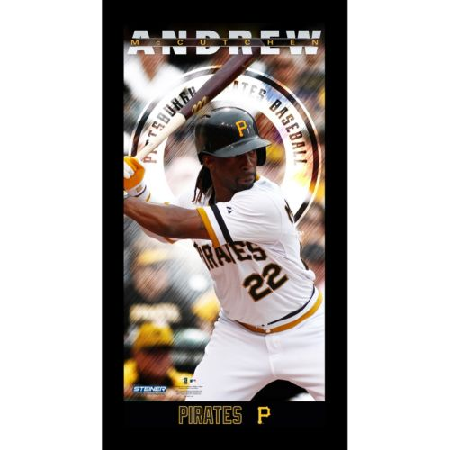Steiner Sports Pittsburgh Pirates Andrew McCutchen 10'' x 20'' Profile Wall Art