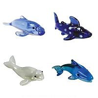 Looking Glass 4-pk. Sea Life Mini Figurines