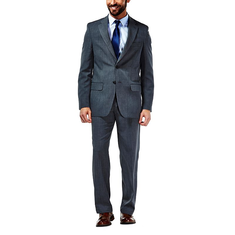 Men's Haggar Travel Classic-Fit Graphite Performance Suit Jacket