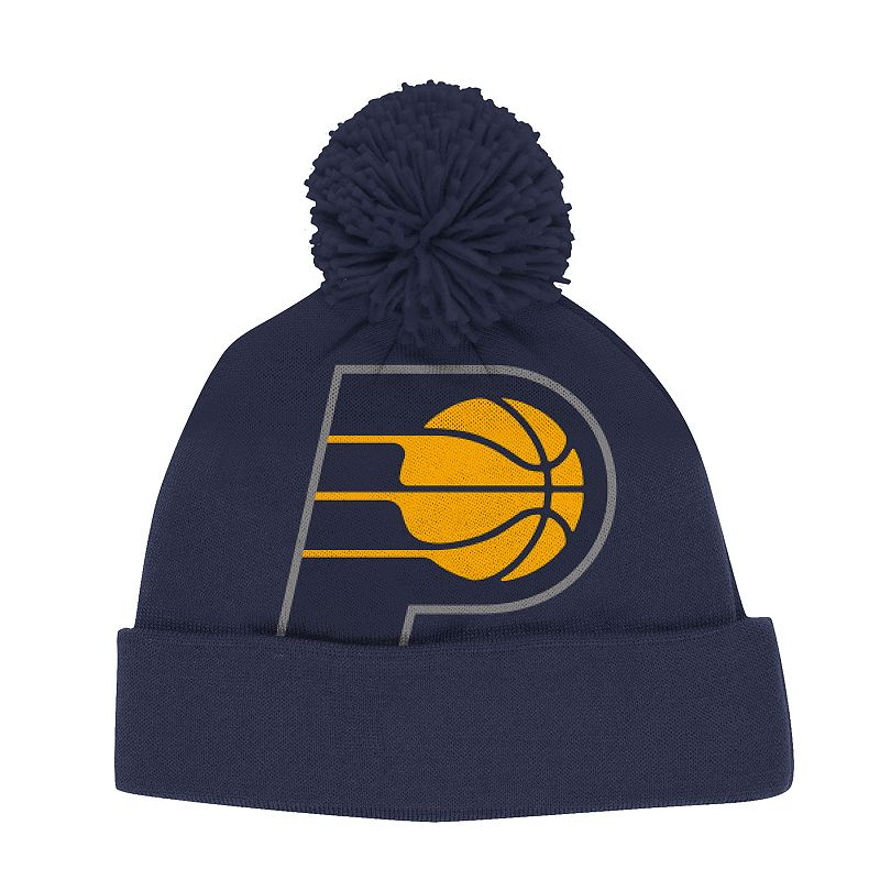 Adult adidas Indiana Pacers Cuffed Knit Cap