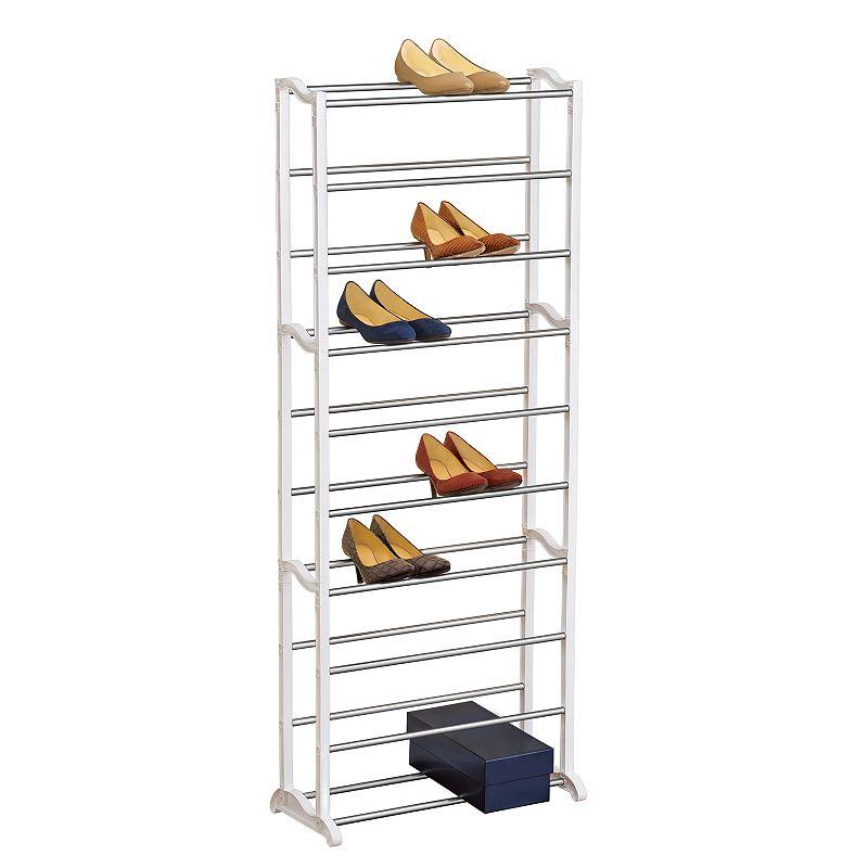 Lynk 30-Pair Shoe Rack