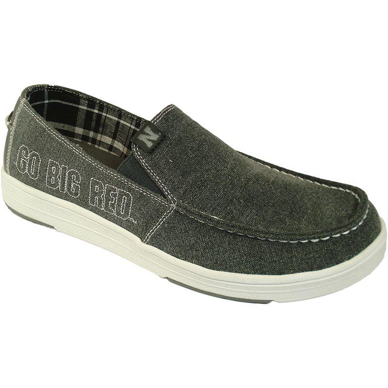 Men's Nebraska Cornhuskers Sedona Slip-On Shoes