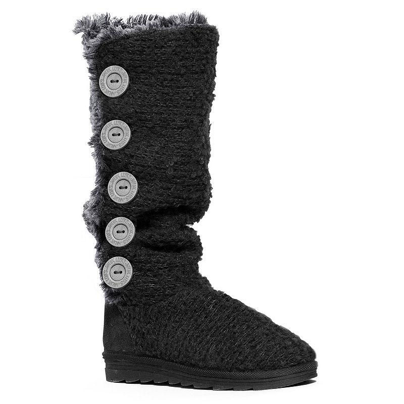 MUK LUKS Malena Crochet Women's Tall Boots