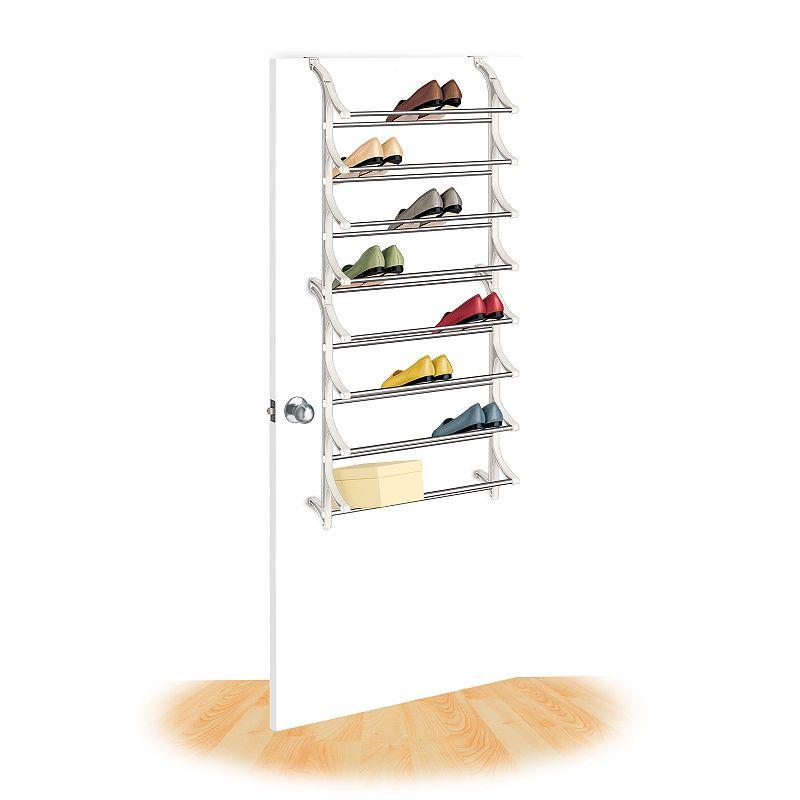 Lynk 24-Pair Over-the-Door Shoe Rack