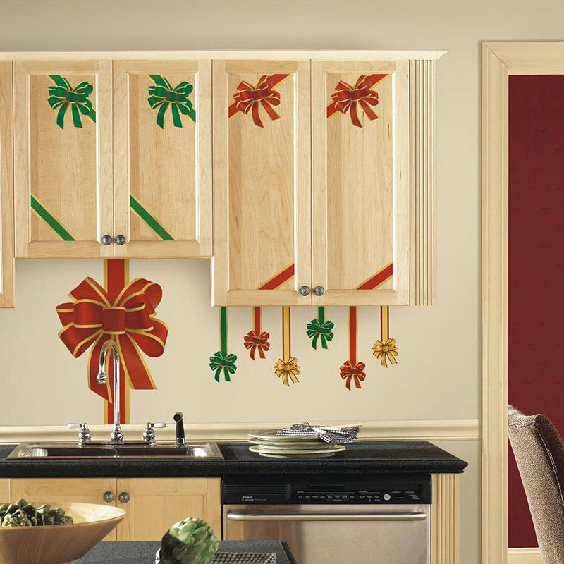 Holiday Bow Wall Decals
