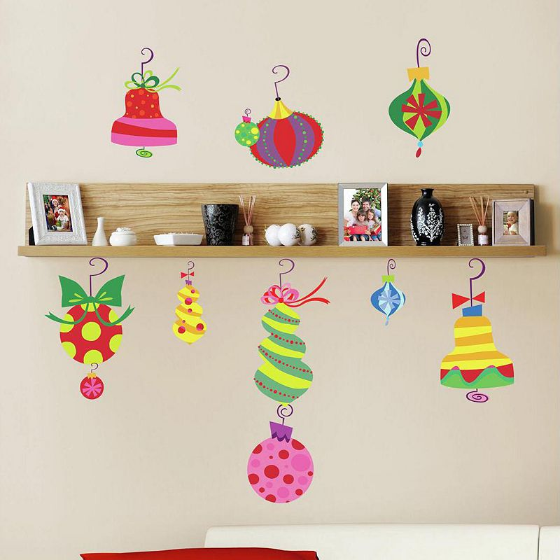 Holiday Ornament Wall Decals