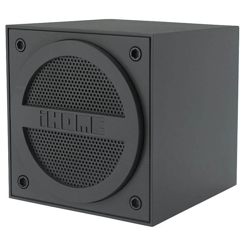 iHome Wireless Bluetooth Rechargeable Mini Speaker Cube