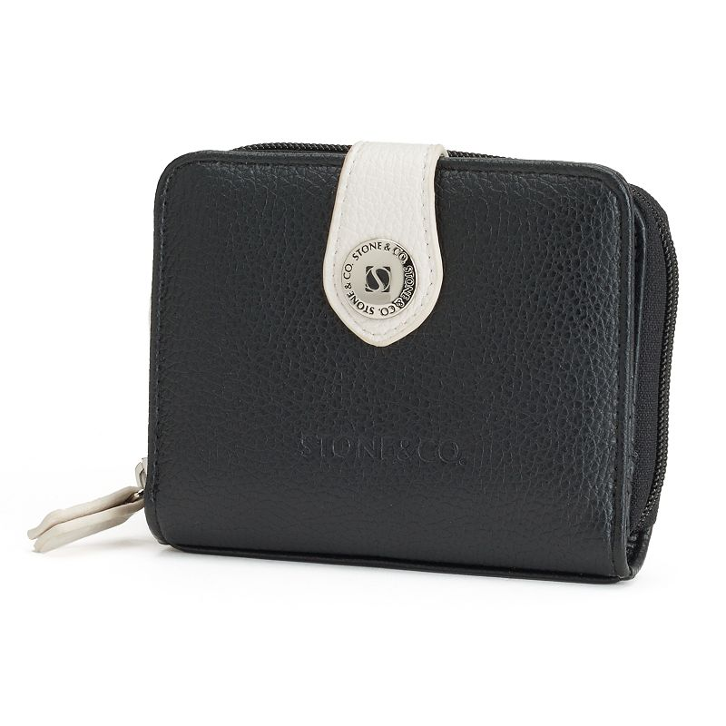 Stone and Co. Leather Small Indexer Wallet