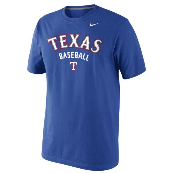 Nike Texas Rangers Practice Tee 1.5 - Men