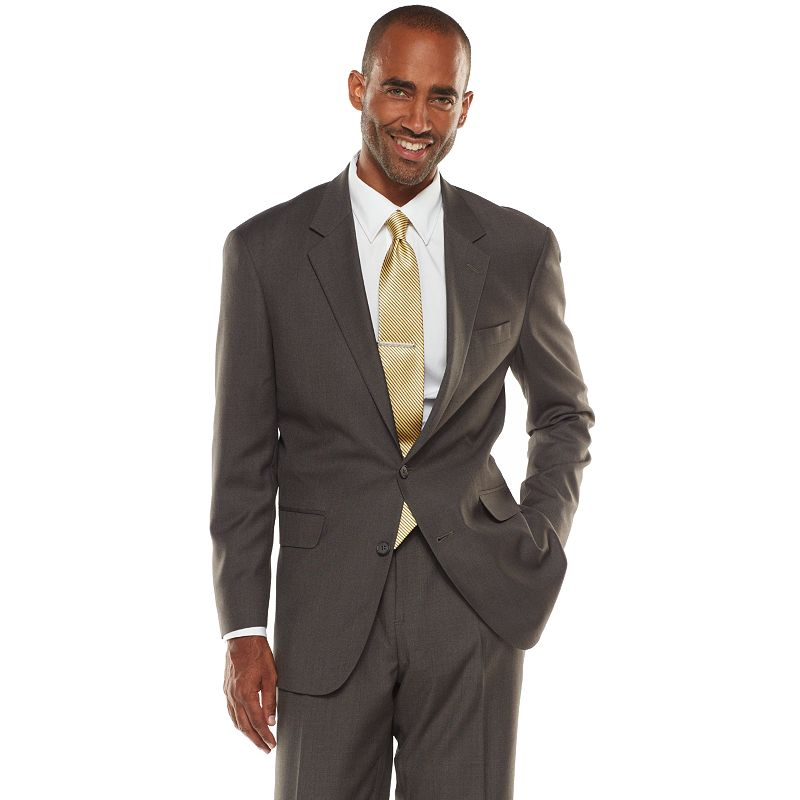 Big & Tall Croft & Barrow® Classic-Fit Gray True Comfort Suit Jacket