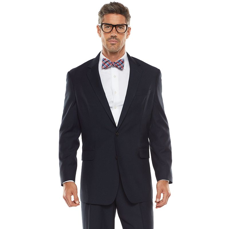 Big & Tall Croft & Barrow® Classic-Fit Navy True Comfort Suit Jacket