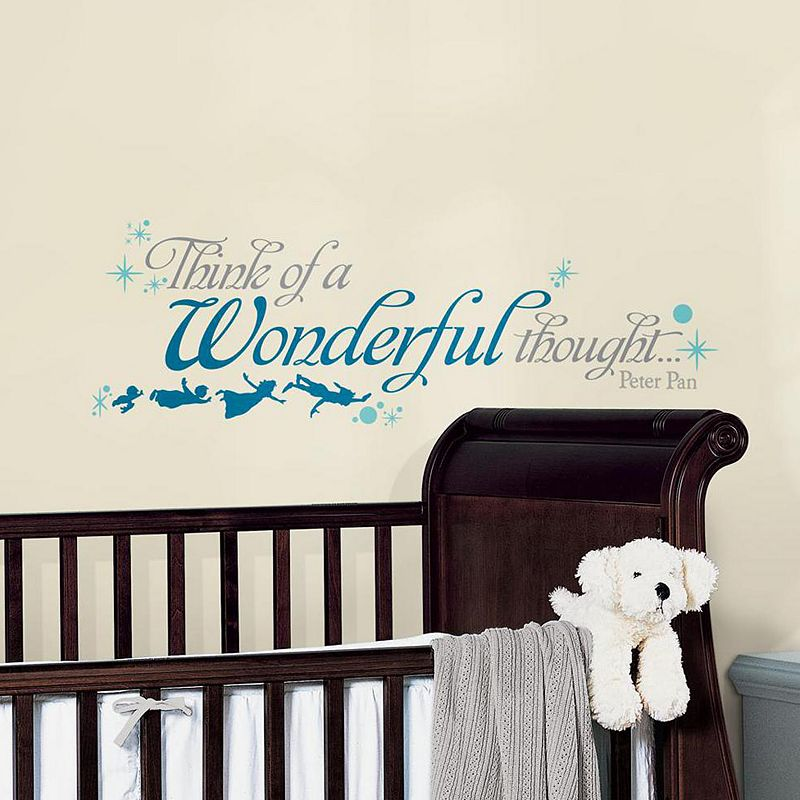 Disney Peter Pan ''Wonderful Thought'' Wall Decals