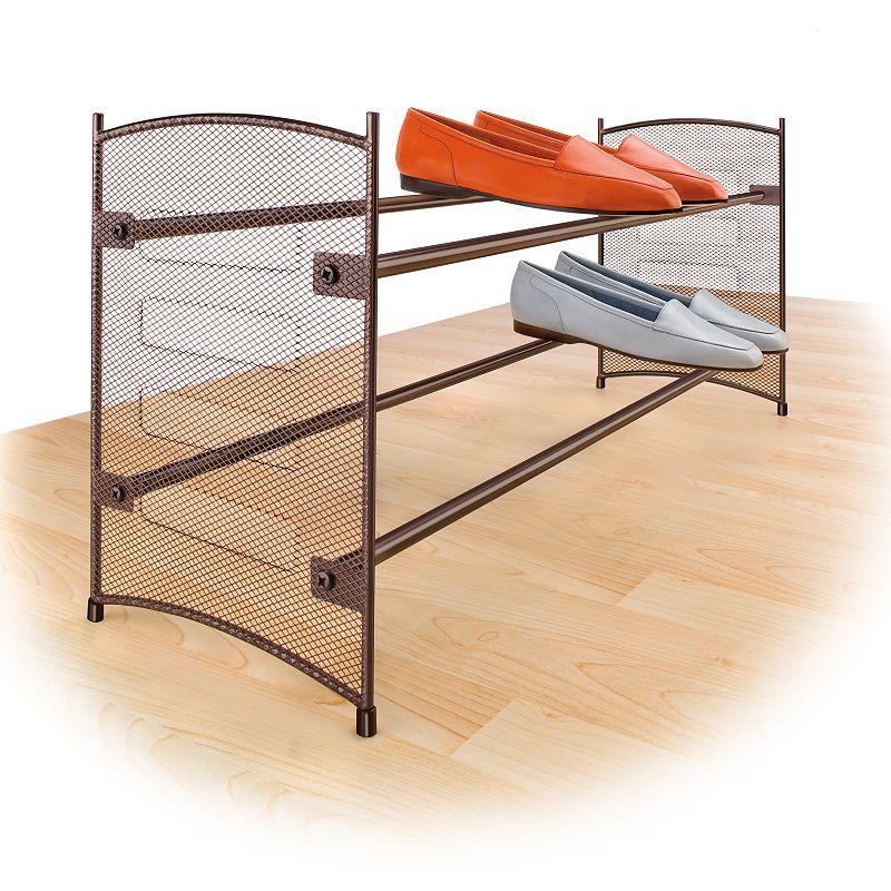 Lynk Expandable Stackable Shoe Rack