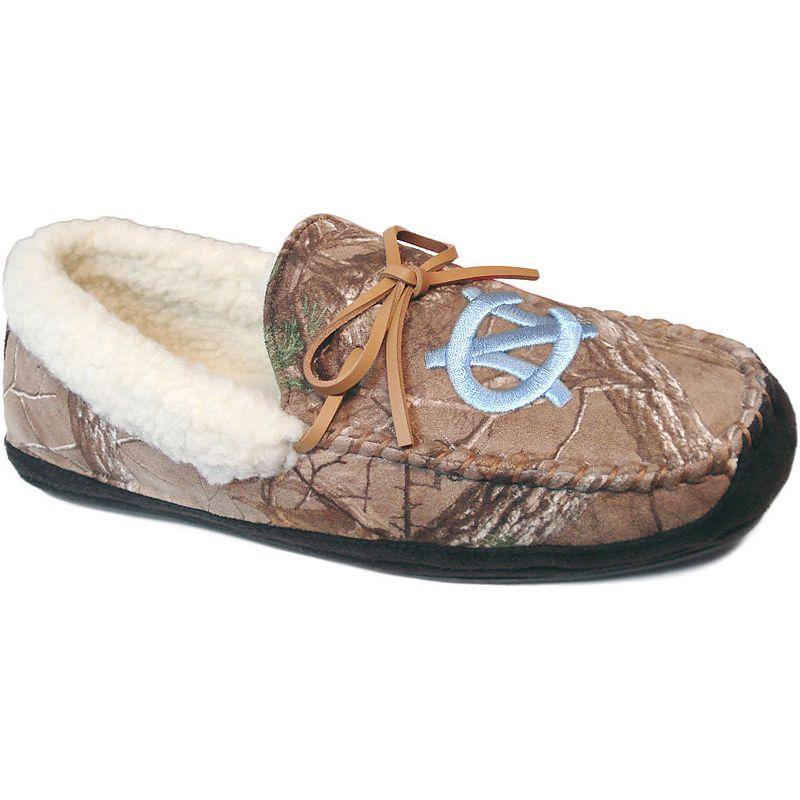 Men's North Carolina Tar Heels Juno Realtree Camouflage Moccasin