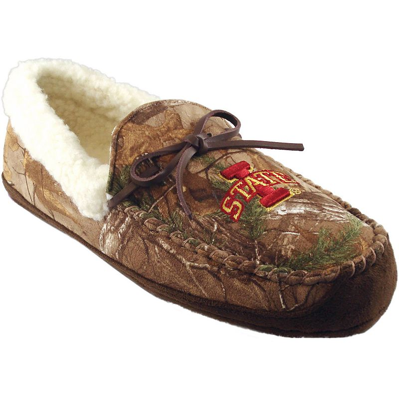 Men's Iowa State Cyclones Juno Realtree Camouflage Moccasin
